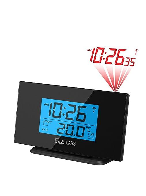 Labs BL506 - Reloj con proyección de la Hora, Color Negro: Amazon ...