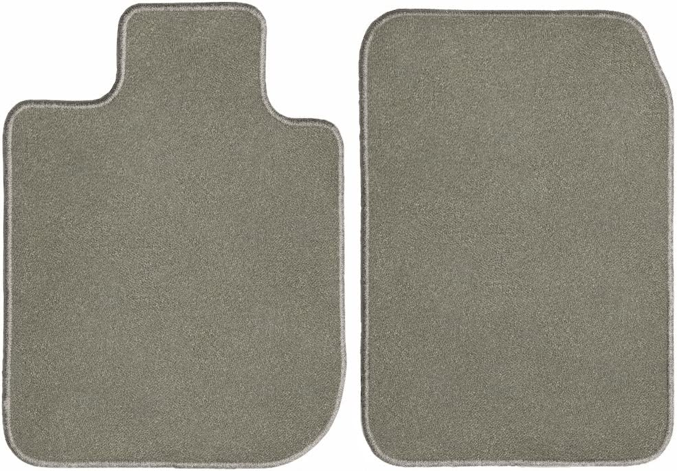 GGBAILEY D60306-F1A-GY Custom Fit Car Mats for 2015 2017 2018 Audi RS7 Grey Driver /& Passenger Floor 2016