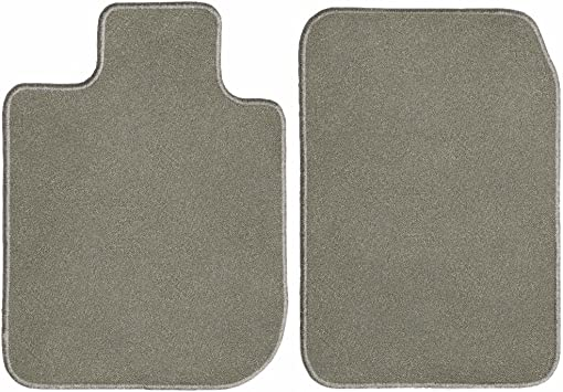 Intro-Tech Hexomat Front Row Custom Floor Mats for Select Chevrolet Tahoe Models Gray Rubber-like Compound