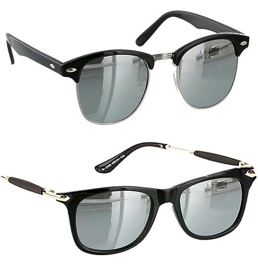 5dc068839f9 Younky Combo Of Uv Protected Wayfarer Silver Mercury Sunglasses For Men  Women Boys   Girls ( Clbmsm-Gldnstickslvrmrcy
