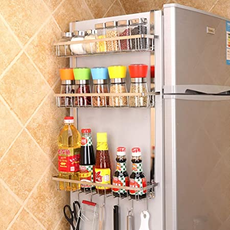 zgl Etagere Simple Frigo Cuisine Rangement Meuble Maison ZlPTiwuXOk