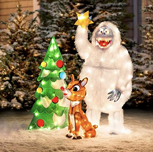 Amazon.com : Animated Rudolph and Bumble Decorating Tree Outdoor Christmas  Decorations - Set of 3 : Garden & Outdoor - Amazon.com : Animated Rudolph And Bumble Decorating Tree Outdoor