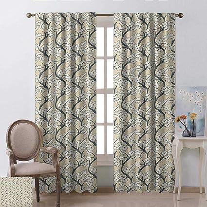 Amazon.com: Leaves, Curtains and Drapes, Flourishing ...