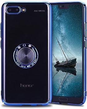 Anfire Funda Huawei Honor 10, Fundas con Anillo de Soporte ...