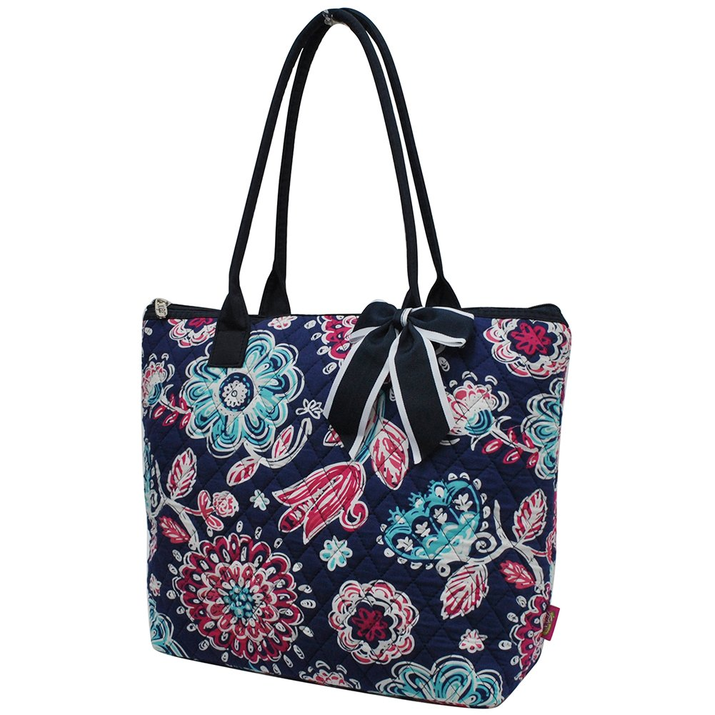 Medieval Blossom NGIL Quilted Tote Bag