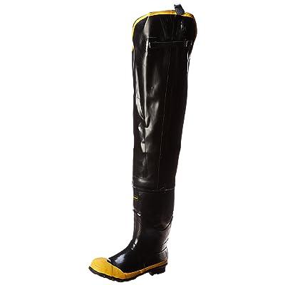 LaCrosse Men's Economy Hip 32 Inch Steel Toe Boot, Black, 12 M US | Industrial & Construction Boots