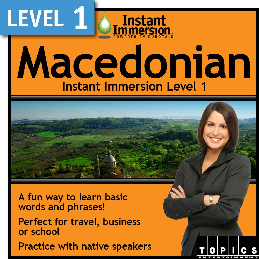 Instant immersion learn german language software