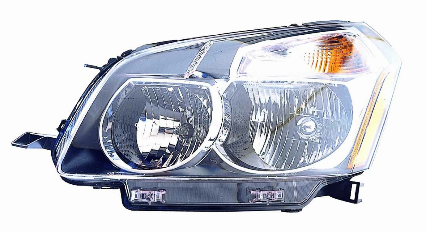 Depo 336-1120R-AS2 Pontiac Vibe Passenger Side Composite Headlamp Assembly with Bulb and Socket