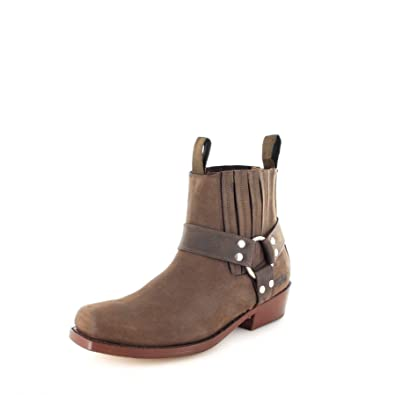 buy online 0c23f 862d7 Buffalo Boots 6000 Brown/Damen und Herren Bikerstiefelette ...