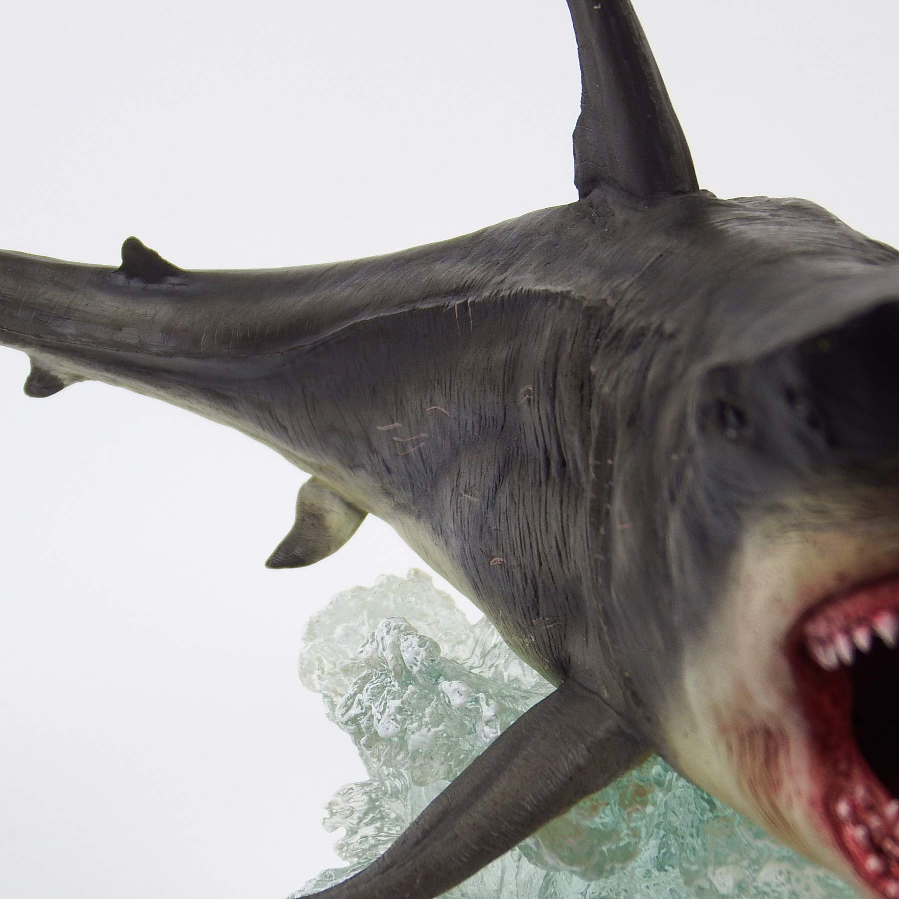 Megalodon Toy Shark Statue Figurine The MEG Paleontology Collectibles Oceanic Nautical Display by GemShark Collectiobles (Image #8)