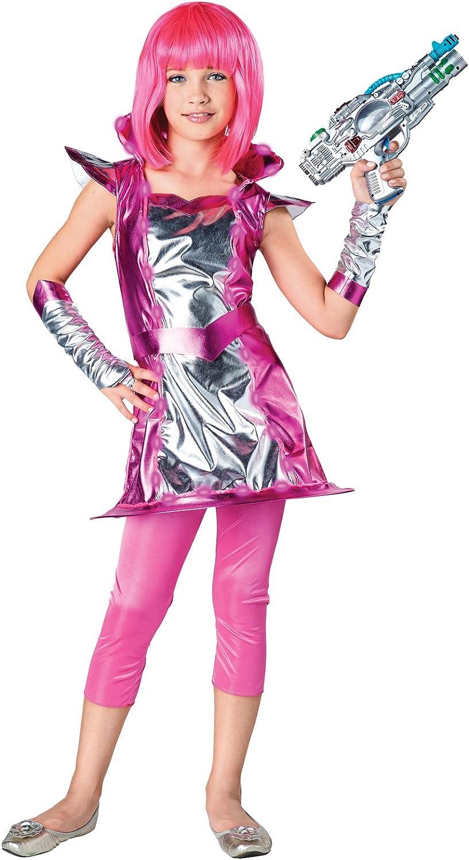 Light Up Cosmic Girl Child Costume S