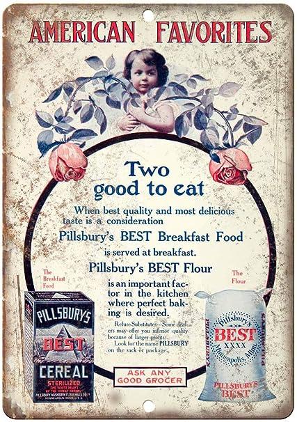 Amazon com: Pillsbury's Best Cereal Vintage Ad 10