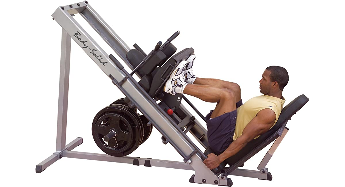 how much does a leg press machine weigh