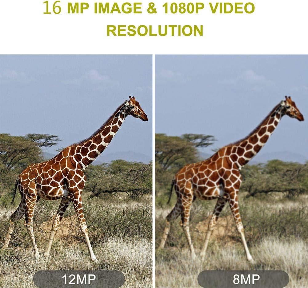 temps de d/éclenchement 0.2s Camera de chasse IP66 /étanche camera chasse 16MP 1080P camera infrarouge vision nocturnesans lueur LED IR 940nm