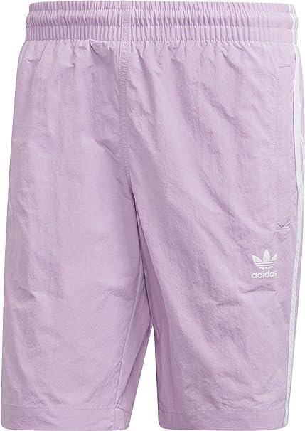Adidas Originals Herren Badehose 3 STRIPES SWIM DV1584 Lila Flieder