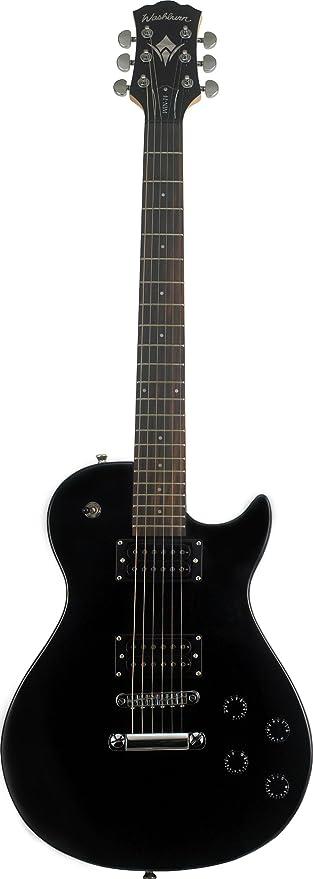 WIN-14 B NEGRA - Washburn: Guitarra eléctrica Win 14 b: Amazon.es: Instrumentos musicales