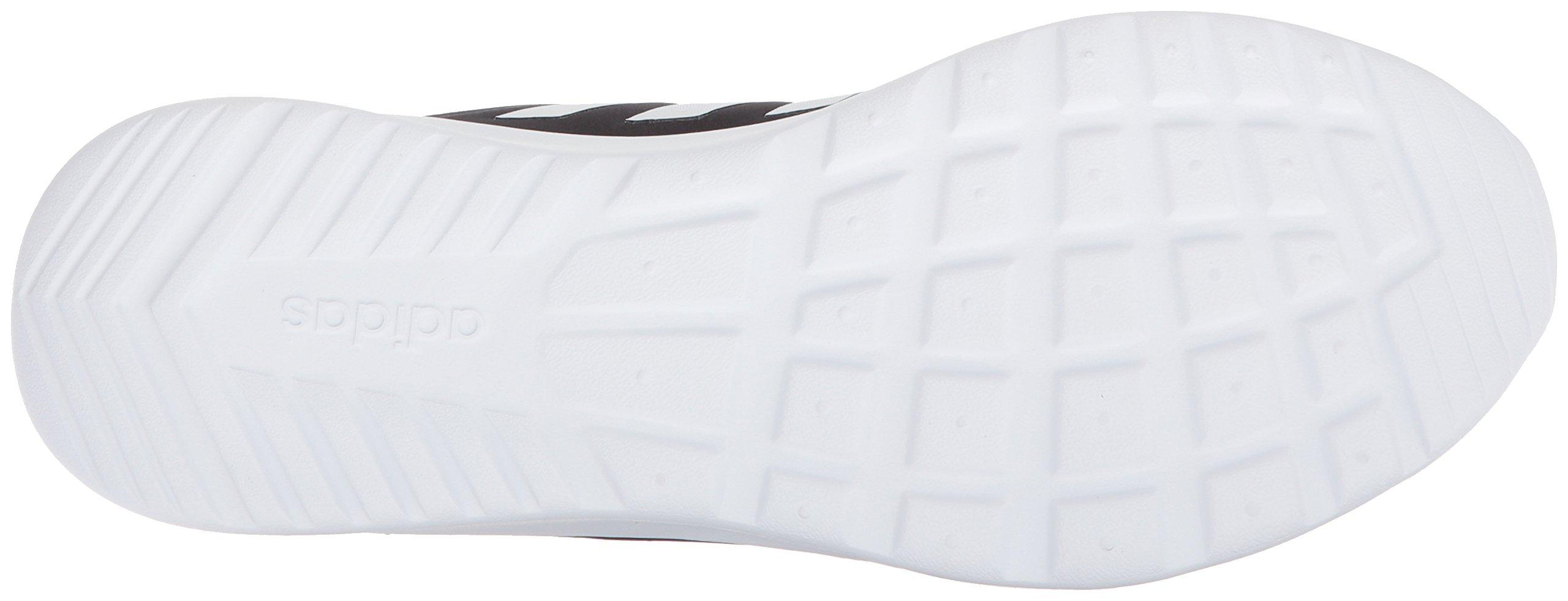 adidas Women's Cloudfoam QT Racer Running Shoe, Black/White/Carbon, 5 M US by adidas (Image #3)