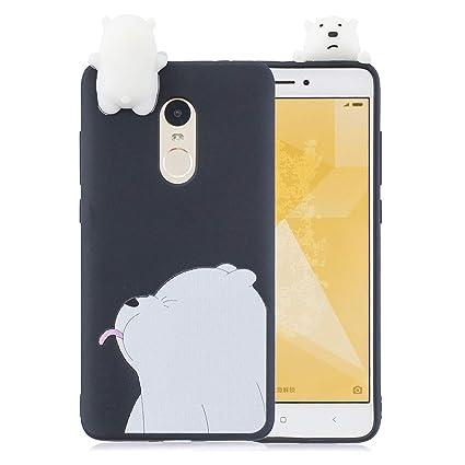 MOEVN Funda para Xiaomi Redmi Note 4 Carcasa de Gel TPU ...