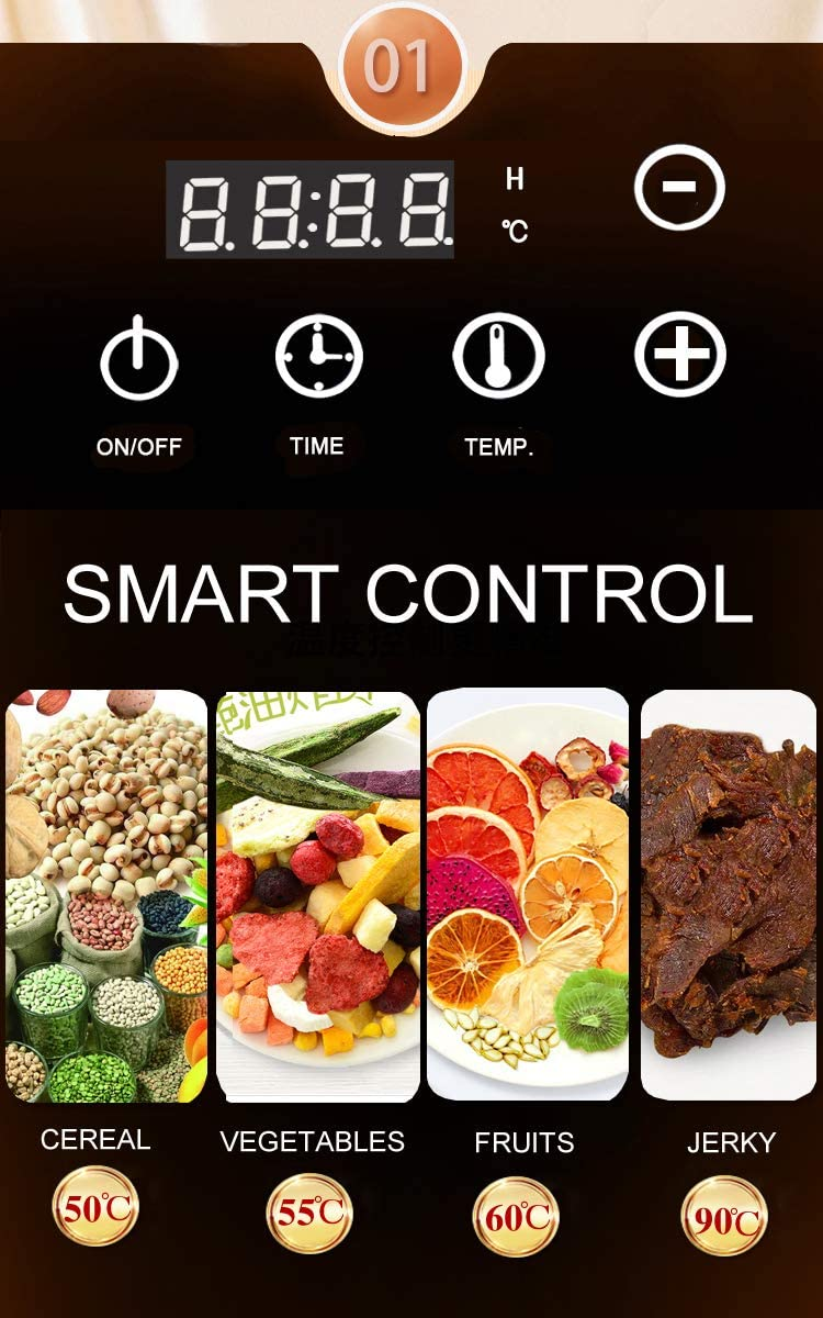 smart-feature-commercial-food-dehydrators