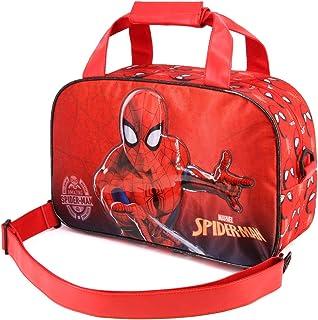 Karactermania Spiderman Spiderweb-Street Sporttasche Borsa sportiva per bambini, 38 cm, Rosso (Red)