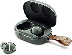 ÅTTA GÖRA Liberté True Wireless Earbuds, Bluetooth 5.0 Headphones with Charging Case, Type-C & Qi Wireless Charging, Touch Control, 2 Mics Bulit-in, IPX5 Waterproof, 20h+ Playtime, Up to 80ft Range.