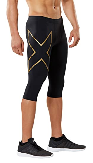 8890509cd0 Amazon.com: 2XU Men's 3/4 MCS Thermal Compression Tights: Clothing