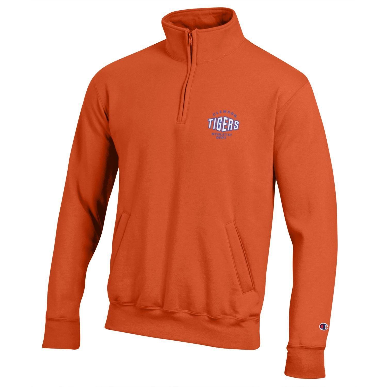 NCAA Champion Mens All-Around Fleece 1//4 Zip Jacket
