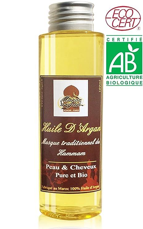 Aceite de Argan Cosmetico 100% BIO y Puro – Para Cabellos y Piel rico en