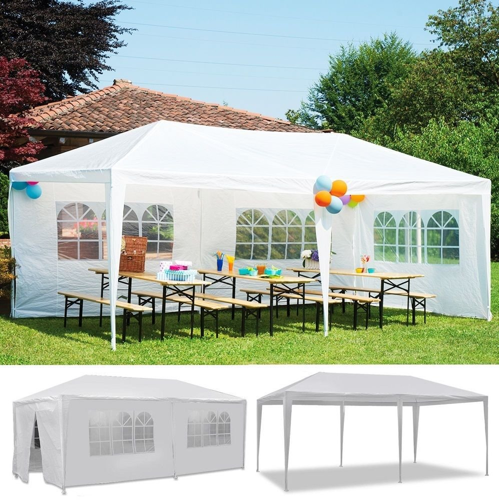 GOJOOASIS 10x20 Outdoor Gazebo Wedding Party Tent w/ 6 Removable Walls by GOJOOASIS (Image #2)