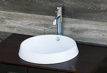 Amazon Com Elimax S Sr 7466 D3 Bathroom Semi Recessed Ceramic