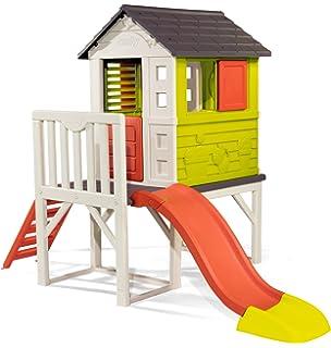 Holz Kinder Spielhaus Holzhaus Gartenhaus Haus Kinderhaus Mit