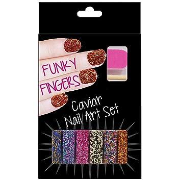 Fizz Creations Funky Fingers Nail Art Kit Caviar Amazon