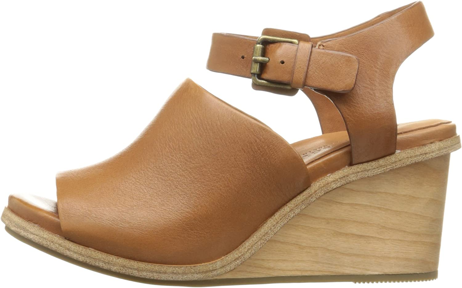 Gentle Souls by Kenneth Cole Womens Gerry Wedge Sandal