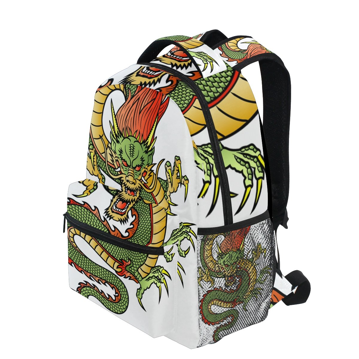 Amazon.com: lorvies dragón chino mochila Casual bolso de ...