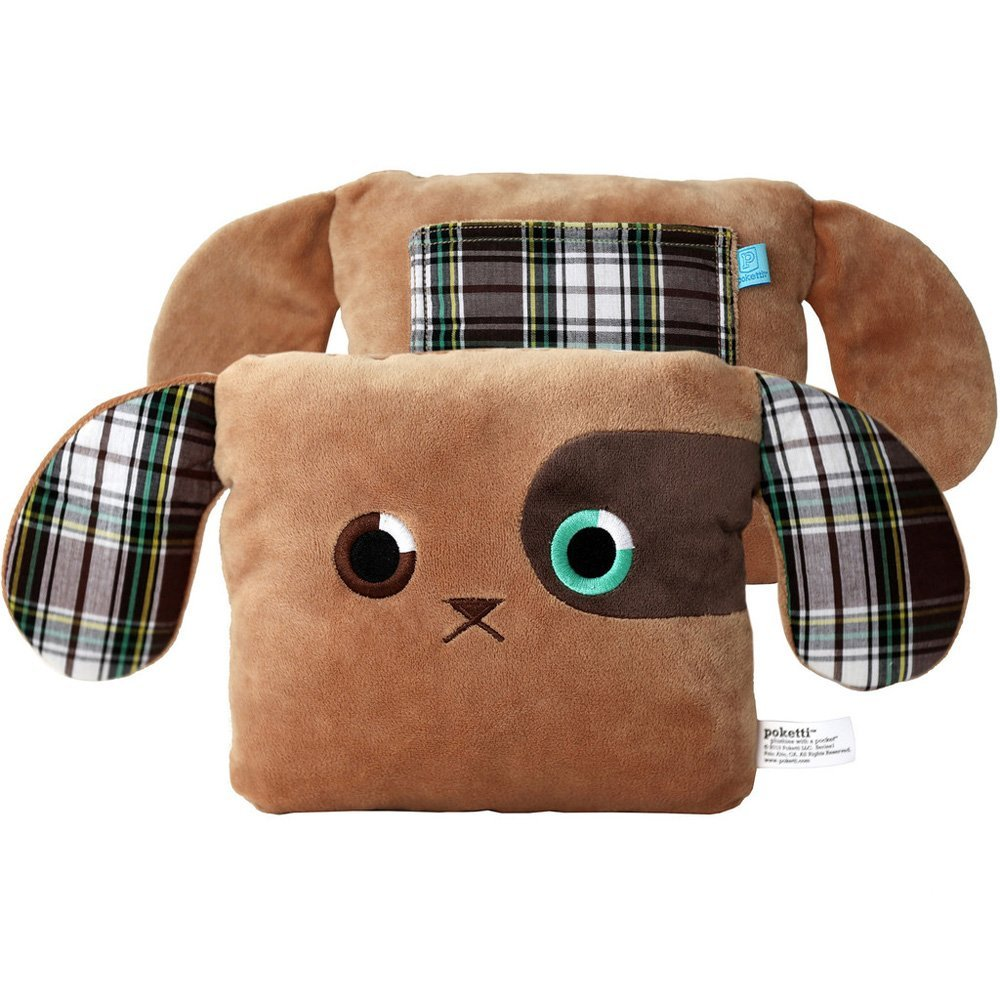 Amazon.com: POKETTI Plushies Plush Toy Puppy Dog - Baxter the Puppy Plushies with a Pocket Series1: Toys & Games