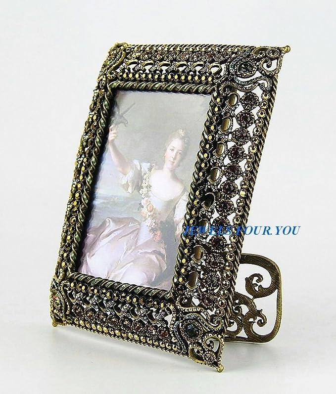 Jay strongwater Patricia Gold First Jay \'s Bilderrahmen Swarovski ...