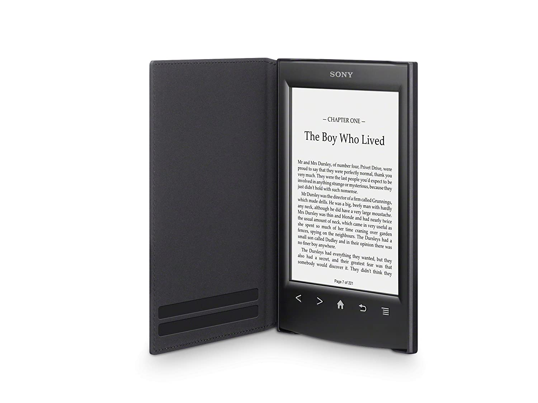 SONY Sony PRSA-SC22 - Tapa protectora negra para lector de eBook ...