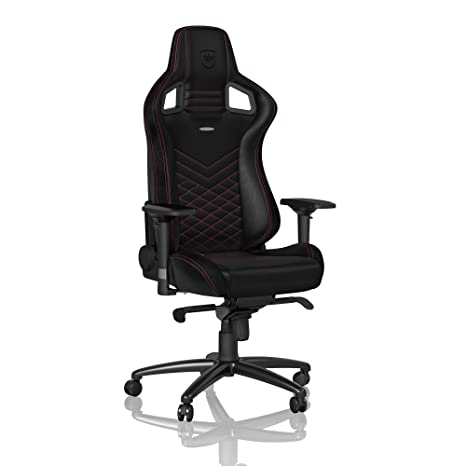 Admirable Noblechairs Epic Gaming Chair Office Chair Desk Chair Pu Faux Leather 265 Lbs 1350 Reclinable Lumbar Support Cushion Racing Seat Design Machost Co Dining Chair Design Ideas Machostcouk