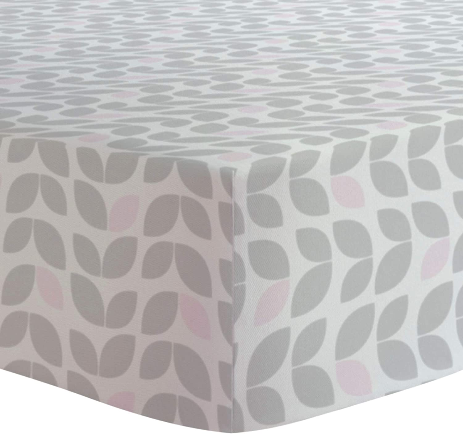 Grey 100/% breathable cotton Kushies Changing Pad Cover for 1 pad Made in Canada