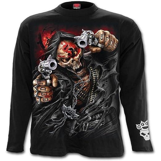 Five Finger Punch In Mens Longsleeve T Shirt S 36