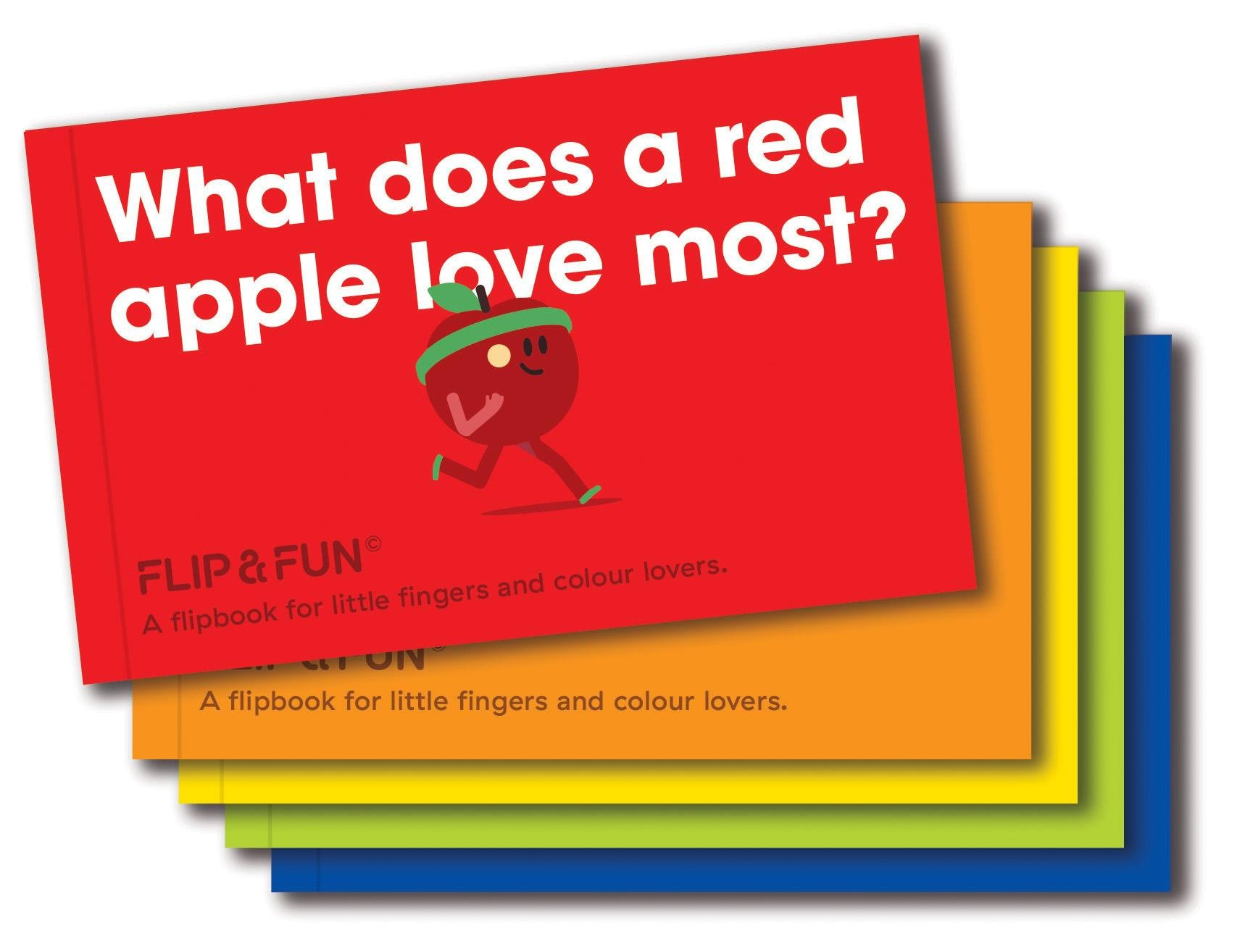 Flip & Fun Fruits: A Flipbook for Little Fingers and Colour Lovers pdf