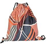 YAA Drawstring Colourful Prints Backpack Gym bag Rucksack Sports Bag Pe Kit  Bag + Tote Bags b97a538af3357