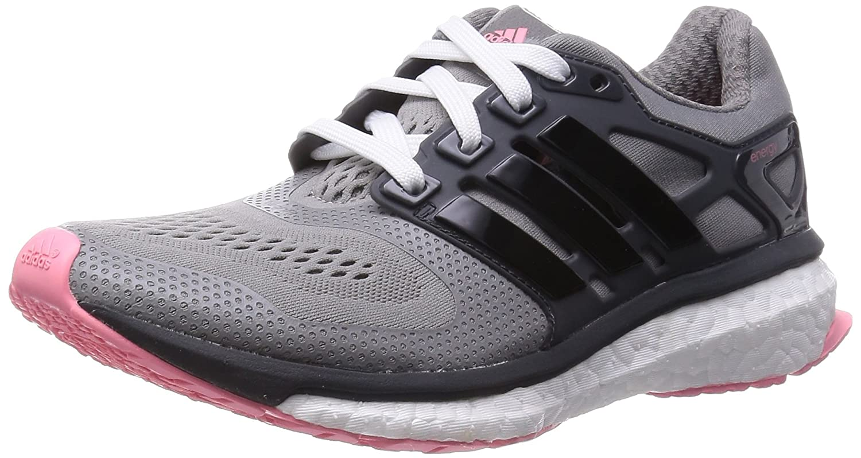 adidas Performance Energy Boost ESM Damen Laufschuhe  38 EU|Grau (Ch Solid Grey/Core Black/Super Pop F15)