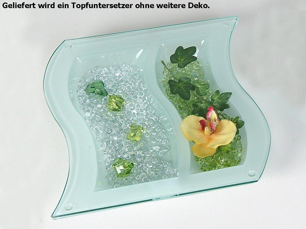 Amazon De Formano Topfuntersetzer Topfunterlage Tischdeko Klar Glas