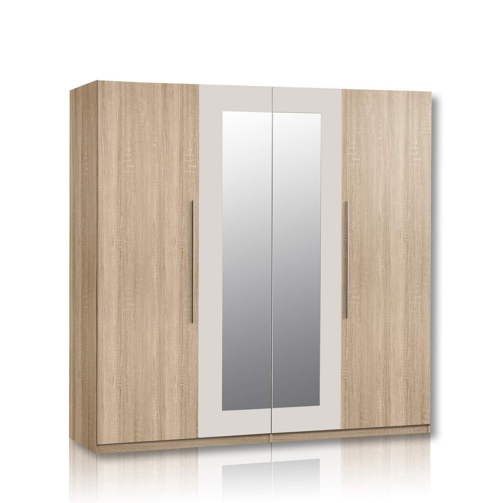 unbekannt kleiderschrank helen eiche sonoma spiegel 228 cm product image