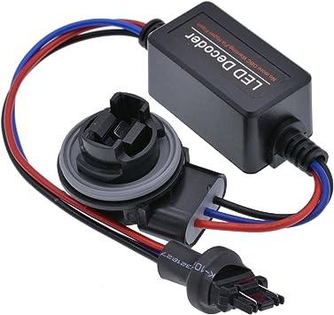 Katur Auto Led Decoder 3157 3156 Canbus Warnfehler Canceller Blinker Lampe Anti Flimmer Lastwiderstand Set 2 Stück Auto