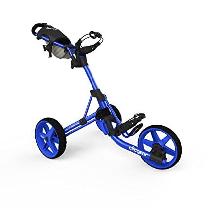 Amazon Com Clicgear Model 3 5 3 Wheel Golf Push Cart Blue