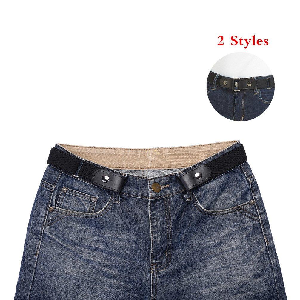 Buckle Free Belt for Women and Men, No Hassle, No Bulge Comfortable Elastic Belt Radmire