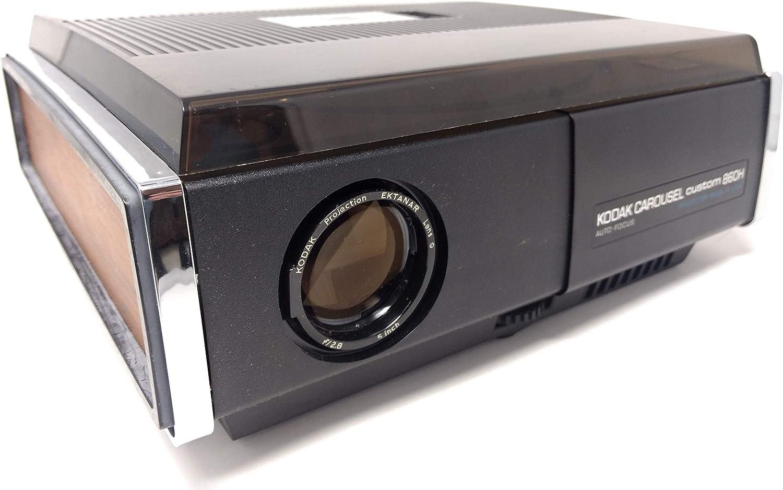 Kodak Carousel Custom 860H Proyector de diapositivas: Amazon.es ...