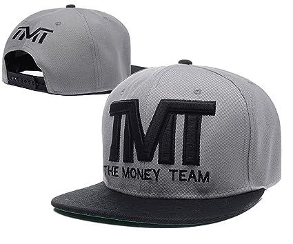 General The Money Team Snapback Sombreros TMT/Gorras (de Colour Gris con Logo Negro